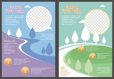 Cartoon Flyer - Brochure with Lovely design
