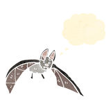 Cartoon flying bat Stock Photos