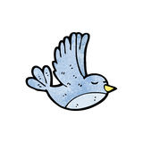 Cartoon flying bird Royalty Free Stock Image