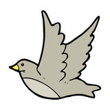 Cartoon flying bird Royalty Free Stock Images