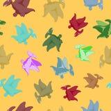Cartoon flying dinosaur Stock Photography
