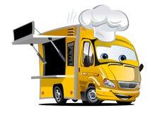 Cartoon food truck Stock Photos