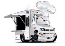 Cartoon food truck Stock Photography