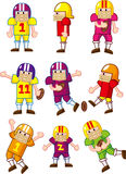 Cartoon Football player icon Stock Image