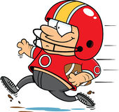 Cartoon Football Player Royalty Free Stock Image