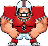 Cartoon Football Player Stock Photos