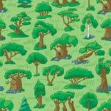 Cartoon forest Stock Photo