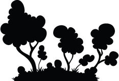 Cartoon Forest Stock Images