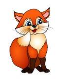 Cartoon fox Stock Image