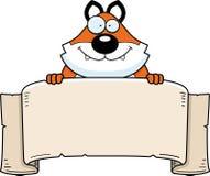 Cartoon Fox Banner Stock Photos