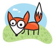 Cartoon fox Stock Photos