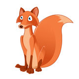 Cartoon fox Stock Photography