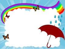 Cartoon frame Royalty Free Stock Image