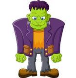 Cartoon Frankenstein Character Stock Image