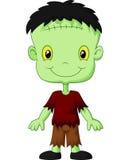 Cartoon Frankenstein kid. Illustration of Cartoon Frankenstein kid Royalty Free Stock Photography