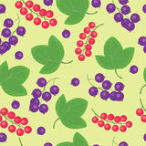 Cartoon fresh berry fruits in flat style seamless pattern food summer design vector illustration. Cartoon fresh berry fruits in flat style seamless pattern food Royalty Free Stock Photography