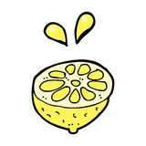 cartoon fresh lemon Royalty Free Stock Photos