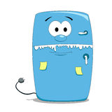 Cartoon fridge Royalty Free Stock Photos