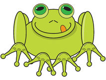 Cartoon Frog Royalty Free Stock Image