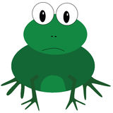 Cartoon frog Royalty Free Stock Photos
