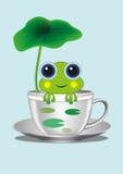 A cartoon frog Royalty Free Stock Photos