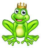 Cartoon Frog Prince royalty free illustration