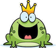 Cartoon Frog Prince Stock Photo