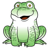 Cartoon frog Royalty Free Stock Images