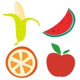 Cartoon fruit Royalty Free Stock Photography