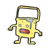 Cartoon full bucket of water Stock Photography