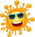 Cartoon Funky Sun Stock Photos