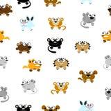 Cartoon funny animals Royalty Free Stock Photos
