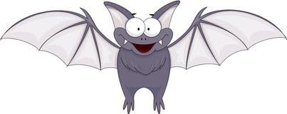 Cartoon funny bat Royalty Free Stock Photos