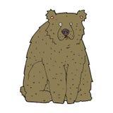 cartoon funny bear Stock Images