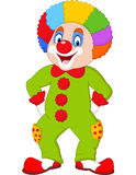 Cartoon funny clown. Illustration of Cartoon funny clown Stock Images