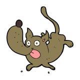 Cartoon funny dog Stock Photography