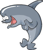 Cartoon funny dolphin Royalty Free Stock Photo