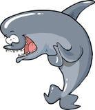 Cartoon funny dolphin Royalty Free Stock Photo