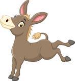 Cartoon funny donkey. Illustration of Cartoon funny donkey Royalty Free Stock Photos