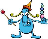 Cartoon funny fantasy character Stock Photo