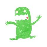 Cartoon funny frog Stock Photo