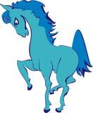 Cartoon funny horse Royalty Free Stock Photos