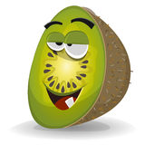 Cartoon Funny Kiwi Character Royalty Free Stock Images