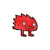 Cartoon funny little monster Stock Image