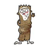 Cartoon funny monkey Royalty Free Stock Image