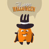 Cartoon funny monster for Halloween holiday Royalty Free Stock Photos