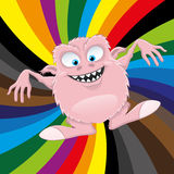 Cartoon funny monster. Royalty Free Stock Photos