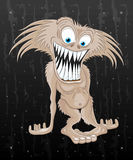 Cartoon funny monster. Royalty Free Stock Image