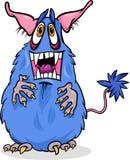 Cartoon funny monster illustration. Cartoon Illustration of Funny Monster or Fright or Bogie stock illustration