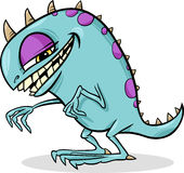 Cartoon funny monster illustration Stock Photo